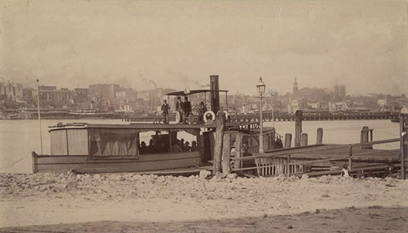 ferry at East Balmain